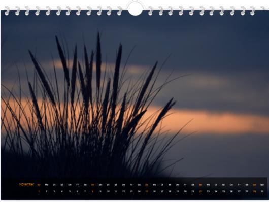 Langeoog Kalender 2020 November